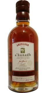 Aberlour a'bunadh Batch 26