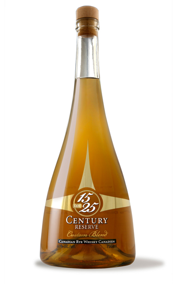 Century Reserve 15 Year Old Canadian Rye Whiskey