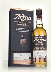 Arran 20 Years Old, Limited Edition