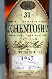 Auchentoshan 31 Years Old 1965 Cask 2502
