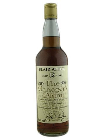 Blair Athol 15 Years Old Manager's Dram