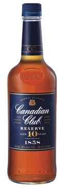 Canadian Club Reserve 10 years old