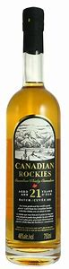 Canadian Rockies Aged 21 Years