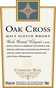 Compass Box - Oak Cross