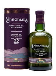 Connemara 22 Years Old  Peated Single Malt Irish Whiskey