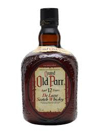 Grand Old Parr 12 Years Old De Luxe Scotch Whisky