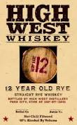 High West 12 Years Old Rye