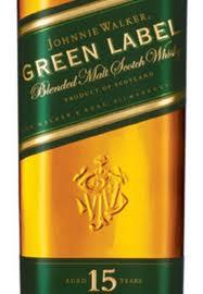 Johnnie Walker Green Label 15 Years Old