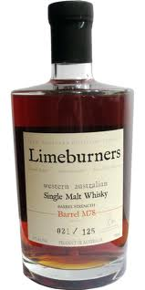 Limeburners Barrel Bottlings (abv +/- 60%)