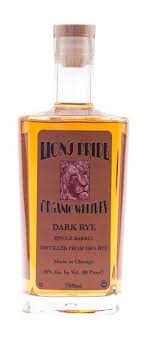 Lion's Pride Dark Rye Organic Whiskey