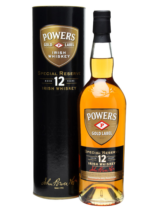 Powers Gold Label 12 Years Old - Special Reserve