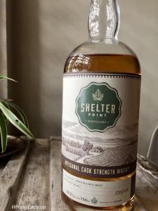 Shelter Point 2017 Winter Release Artisinal Cask Strength