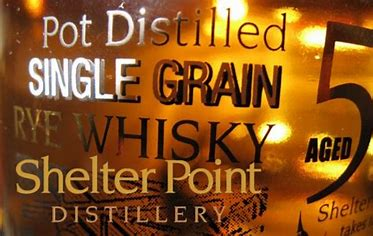 Shelter Point Single Grain Rye 5 Years Old