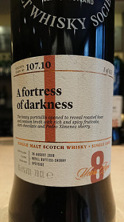 SMWS 107.10 A fortress of darkness