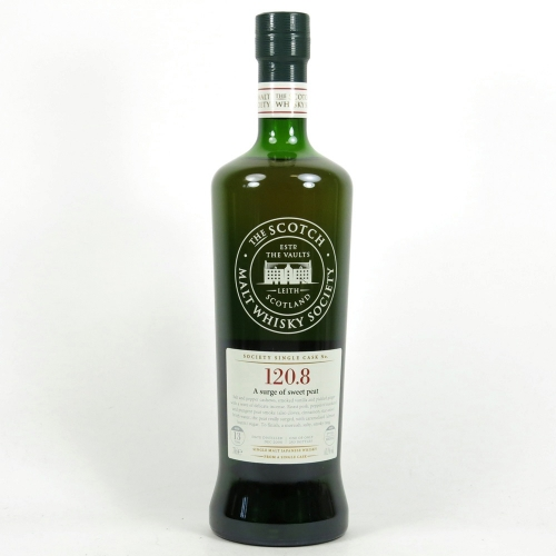SMWS 120.8 A surge of sweet peat