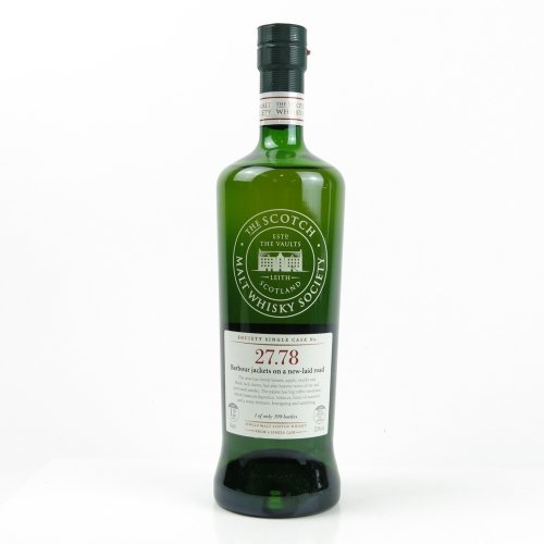 SMWS 27.78 Barbour jackets on a new-laid roof