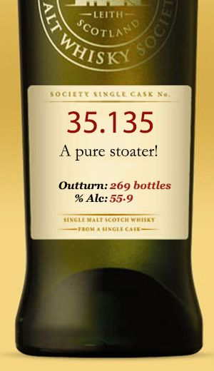 SMWS 35.135 A pure stoater
