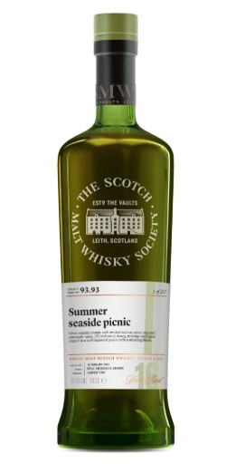 SMWS 93.93 Summer seaside picnic 16 Years Old