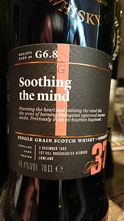 SMWS G6.8 Soothing the mind 37 Years Old