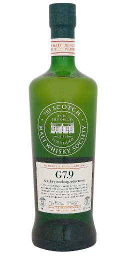SMWS G7.9 A sultry smoking seductress 22 Years Old