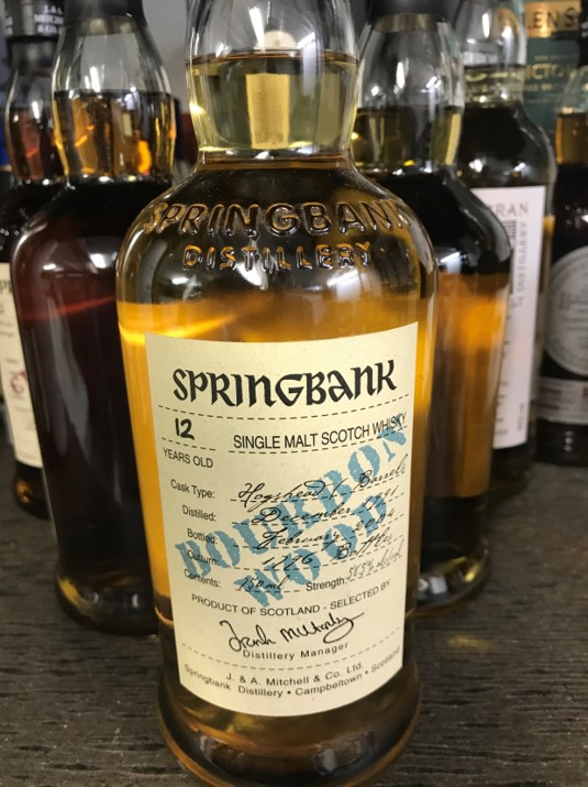 Springbank Bourbon Wood 1991 12 Years Old