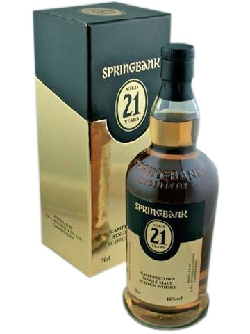 Springbank 21 Years Old 2013 Release