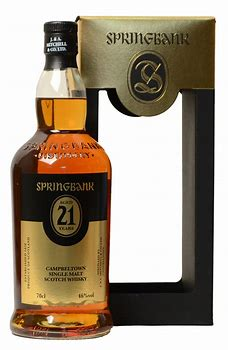 Springbank 21 Years old 2018 Release