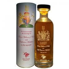 The English Whisky Company William & Katherine Mariage Commemoration